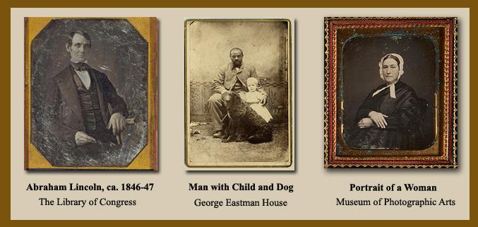 Sample daguerreotypes