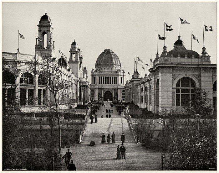 Image of the Week: The World's Columbian Exposition (Looking South between Electricity and Mining Buildings)